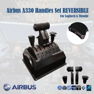 Airbus A330 Handles Set REVERSIBLE for Logitech G Pro Throttle
