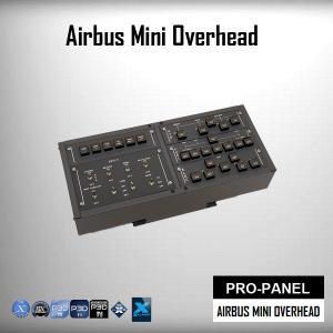 Airbus Mini Overhead for Flight Simulator