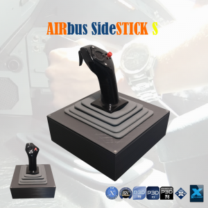 AIRSTICK S - USB Plug and Play Airbus Control Sidestick