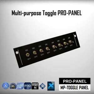 Multi-purpose Toggle Pro-Panel (Fully Assembled)