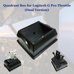 Quadrant Box for Logitech G Pro Throttle (Dual throttles)