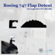 Boeing 747 Flap Detent for Logitech G Pro Throttle