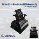 Airbus A340 Handles Set LITE for Logitech G Pro Throttle (Version 2)