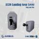 Airbus Landing Gear Lever
