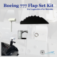 Boeing 777 Flap Set for Logitech Saitek G Pro Throttle