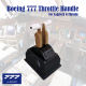 Boeing 777 Throttle Set for Logitech G Pro Throttle