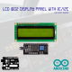 LCD 1602 (16x2) with IIC / I2C Interface (GREEN BACKLIGHT)