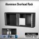 Cockpit phD ® Aluminium Overhead Rack for PRO-PANEL (Black)