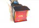 Self-Locking Push Button with RED LED (Set of 5) Customised Labels
